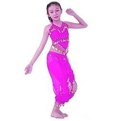 Conjunto de las niñas para niños disfraz de danza del vientre de harén para hombre para niños