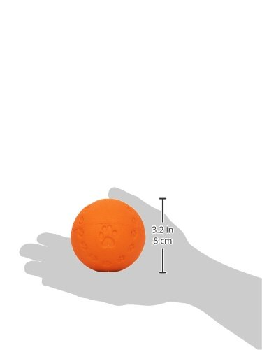 Trixie-Natural-Rubber-Toy-Dog-Ball-with-Sound-7-cm-Random