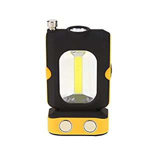 LDCRE COB 3 Modi Arbeitslampe rotierende magnetische Auto Reparatur Laterne LED Weiß Beleuchtung Licht