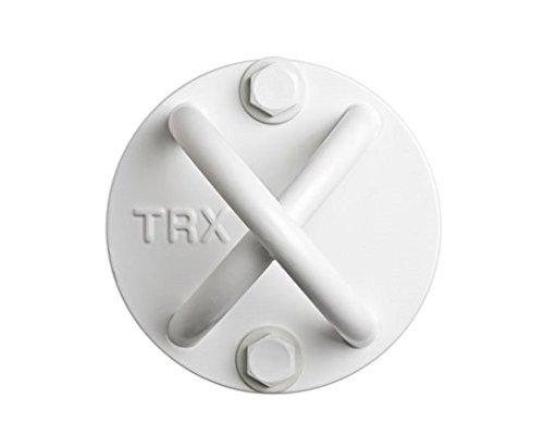 Entraînement TRX - X-Mount. Installez un support durable et discret presque n'importe où grâce à ce point d'ancrage (Blanc)