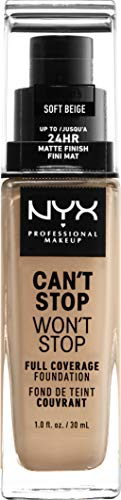 NYX Professional Makeup Base Maquillaje Can't Stop