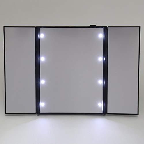 Specchi Professionali Per Trucco.Kkkkoss Professionale Led Specchio Per Trucco Portatile Tre Lati