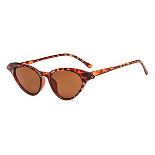 ZRTYJ Sonnenbrille -Art- undKatzenaugen -Sonnenbrille -Frauen -transparenter Rahmen Sonnenbrillen für DamenObjektive Shade
