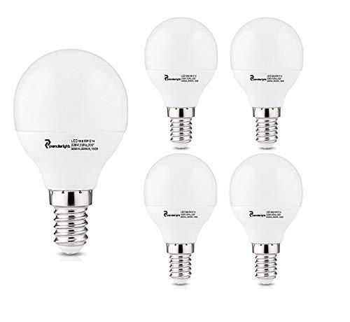 PanderLights Pack SET E14 LED MB Lampe 6W 500lm (Ersetzt ca. 50W) Warmweiß – SMD LED Leuchtmittel – 150° Abstrahlwinkel