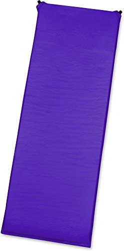 GearUp Camping Thermo Matte selbstaufblasend - gute Isolierung und Polsterung Farbe Violett Größe 190 x 60 x 3 cm