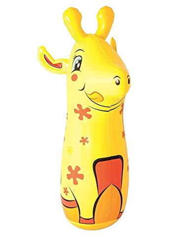 "Aradhya Bestway 36"" Animal Shape Inflatable Blow Up Bop Bag Punching Bag Kids Toy"