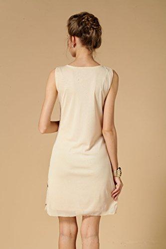 Babeyond Damen Flapper Kleid mit langem Troddel Great Gatsby Mottoparty Frauen Knielang Kleid Größe S Abbildung 3