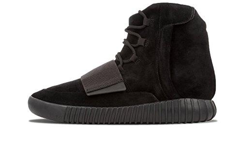 "Adidas Mens Yeezy Boost 750 ""triple noir"" Black / cblack Suede Black/Cblack"
