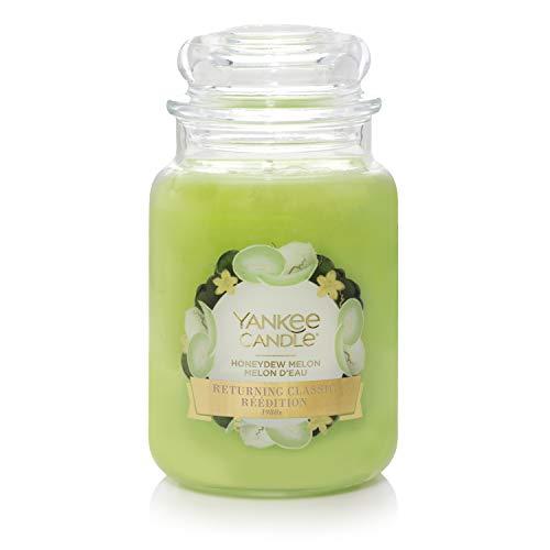 "Yankee Candle Duftkerze im großen Jar, ""Honeydew Melon"""
