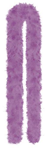 Amscan International - Boa di piume bicolore, colore: Viola