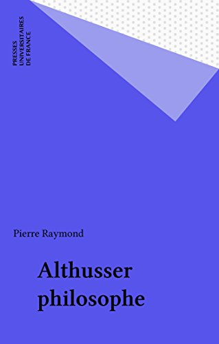 Althusser philosophe