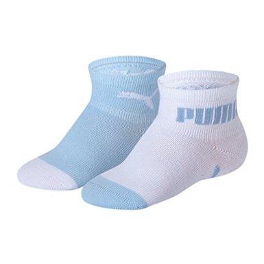 Puma Icon Baby/Kindersocken im Vorteilspack (15/18 - 6 Paar, 352 weiss/hellblau)
