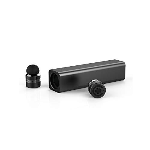 Auriculares Bluetooth inalámbricos,micrófono Incorporado y Auriculares con cancelación de Ruido,Mini Cargador portátil, Auriculares a Prueba de Sudor,compatibles con Todos los Dispositivos Bluetooth …