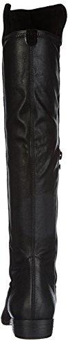 Tamaris 25568, Stivali sopra il ginocchio Donna Nero (Schwarz (Black 001))