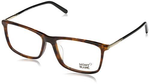 Montblanc Herren Optical Frame MB0626-F 055 58 Brillengestelle, Braun,
