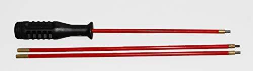 Flachberg Waffenreinigung Putzstock für Langwaffen/Kurzwaffen Luftgewehr Luftpistole 4.5 mm -