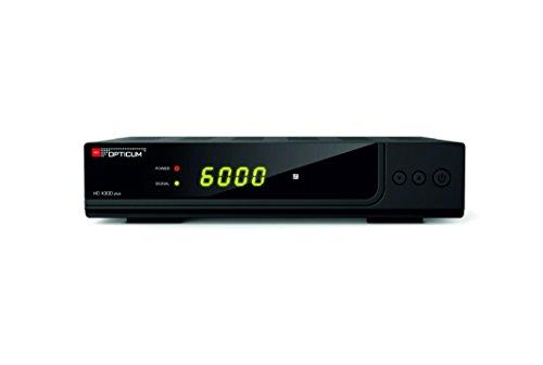 Opticum HD X300 plus HDTV-Satellitenreceiver (Full HD 1080p, HDMI, USB, S/PDIF CoXial, Scart) -    Schwarz
