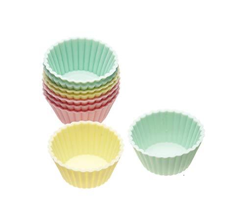 SWEETLY DOES IT Mini-Muffinförmchen 12 Stück Farben Sortiert