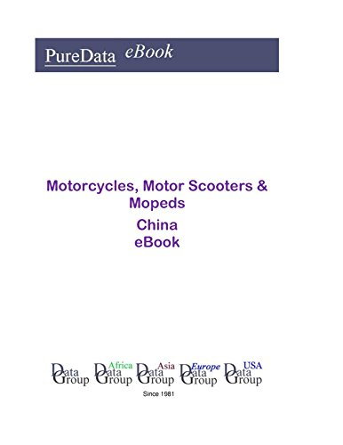 Motorcycles, Motor Scooters & Mopeds in China: Market Sales in China on