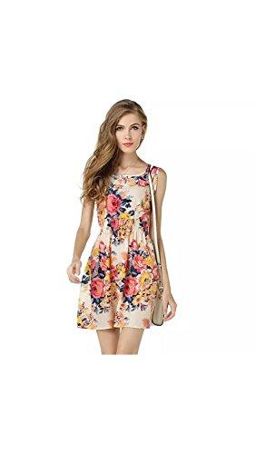 Varibha Women\'s Dress (Aaiotu00019A01-Slf_White_Small)