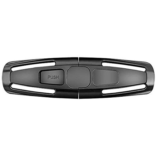 Ndier Auto Sicherheits Sitz Gurt Harness Brust Kind Clip Sicher Buckle für Baby Schwarz Autozubehör - Verschluss-brust