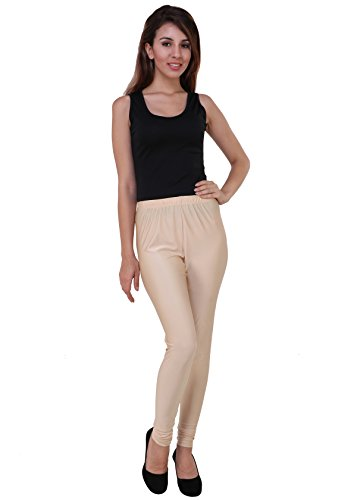 RichLook Fashion Women Satin Legging - Gold (XL)