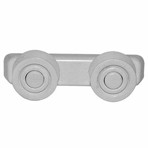 Spares2go cesta cajones y raíl Runner ruedas de soporte y soportes para...