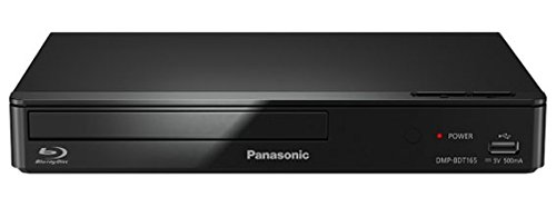 Panasonic DMP-BDT165EG BluRay Player (Full HD, 3D, LAN, USB) schwarz