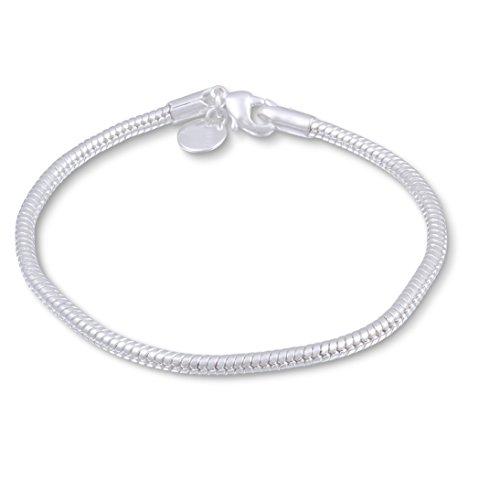 FleißIg Echtes Silber 925 Armreif Rhodiniert Beim Hersteller !! Höchste Qualität