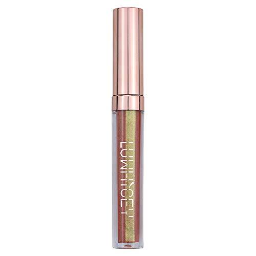 Aktionspreis,Lippenstift,PorLous Neu Beliebt Schönheit Mode Lippenlippenstift Kosmetik Frauen Sexy Wasserdichte Lippen Metallic Lipgloss Feuchtigkeitsspendend 6