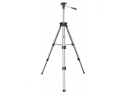 Stanley Fotostativ, Aluminium, drei Gleitfüße, Säule (44cm bis 140cm, 1/4 Zoll Gewinde, Plateau neigbar) 1-77-201