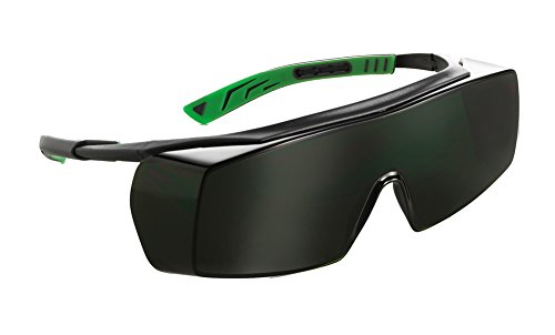 Univet 5X7 Ultimate Overspecs Safety Welding Shade 5 Work Glasses by Univet Optical Technologies
