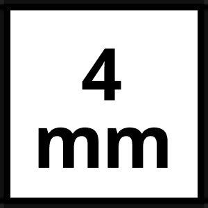 30m chaîne acier zingué lien longue 4mm