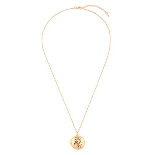 UEVOS Halskette Damen Choker Kette Schmuck Anhänger Einfache Wilde Halskette Europäischer und amerikanischer Modeschmuck Süßes Elégant Anhänger