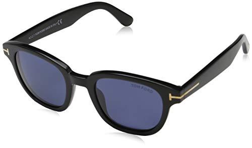 Tom Ford Unisex-Erwachsene FT0538 01V 49 Sonnenbrille, Schwarz, (Tom Ford Sale)