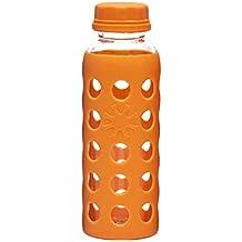 BESTONZON Botella de Agua de Cristal de borosilicato para té, café, Zumo, Leche