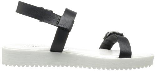 Gladiator Note Laundry Leder Worthy Chinese Schwarz Sandale S5IFcx
