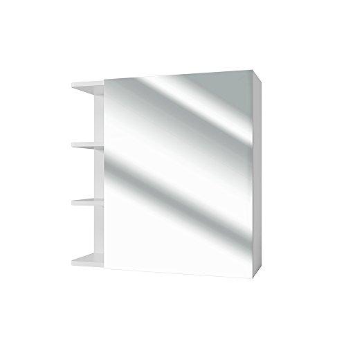 *VICCO Spiegelschrank FYNN 62 cm Weiß – Spiegel Hängespiegel Badspiegel*