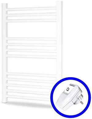 Cicsa Radiador Eléctrico Secatoallas Zeta Dry * Toalleros Eléctricos (Medidas 700 x 500 mm) 250 Watios * Secatoallas En Color Blanco * 2 AÑOS de Garantía