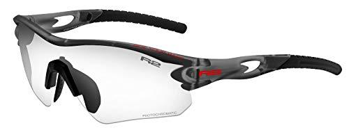 R&R Selbsttönende Multi-Sportbrille Proof | Sonnenbrille | Radbrille | photochrom Triahlonbrille