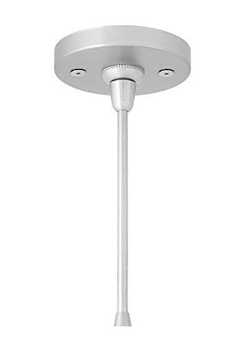LBL Lighting CK001I-FJ2-SC-LED277 Fusion Jack Round Flush 4-Inch LV 277V LED Canopy, Satin Nickel Finish by LBL Lighting