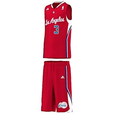 adidas Los Angeles Clippers de los niños Kit, color Red - red, tamaño 152 - M