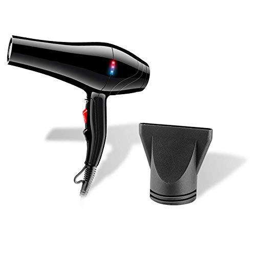 WANSIRUI Haartrockner Professioneller Ionischer Haartrockner Salon Schneller Föhn 3 Hitze 2 Geschwindigkeitseinstellungen mit Sammeldüse, Leistungsstark, für Friseursalon, Geräuscharm