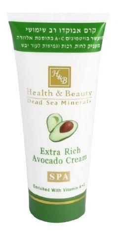 Health & beauty crème corps enrichie avec avocat – 180 ml
