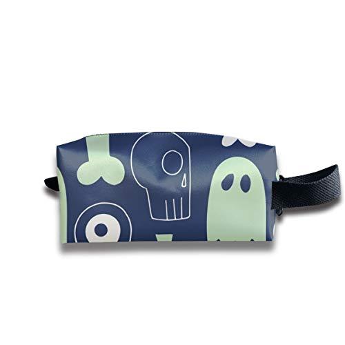 Alle Dinge Halloween Dark_12020 Tragbare Reise Make-up Kosmetiktaschen Organizer Multifunktions Tasche Taschen für - Spanisch Halloween-aktivitäten