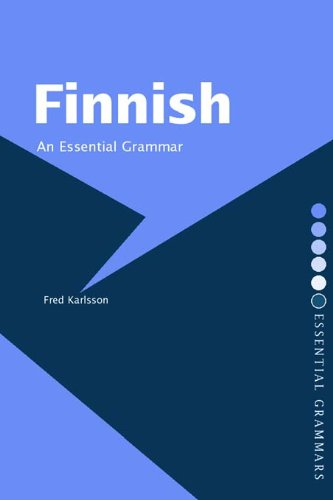 Finnish: An Essential Grammar (Routledge Essential Grammars) (English Edition)