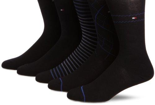 tommy-hilfiger-calcetines-para-hombre-talla-43-talla-francesa-color-azul