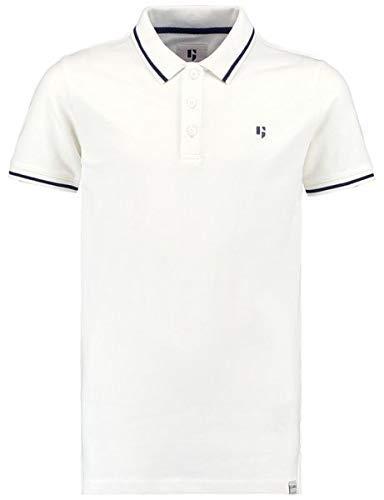 Garcia Jungen Kurzarm Shirt D93614 in Weiss, Kleidergröße:164/170, Farbe:Elfenbein (Broken White 304)