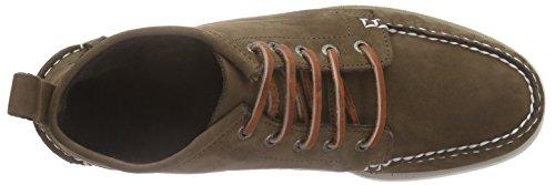 Sebago Beacon, Chaussures bateau homme brun (CHOCOLATE NUBUCK)