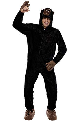lla Kostüm, Jumpsuit mit Kapuze, Größe: M, 23907 ()